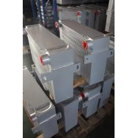 Buy cheap Vacuum Brazed Aluminum bar & plate fin heat exchanger with water cooler product