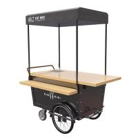 Buy cheap Coffee Hand Push Cart Vendor With 304 Stainless Steel Work Table product