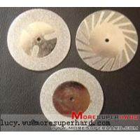 Buy cheap Diamond Mini Discs lucy.wu@moresuperhard.com product