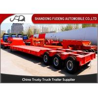 Buy cheap 120 / 100 Tons Heavy Equipment Trailers 3 Lines 6 Axles Mechanical Ladder product