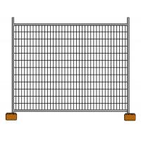 Buy cheap Galvanized Construction Site Australian Temporary Fencing Panels Low Carbon Steel Q235 product