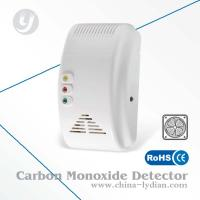 Buy quality AC Powered CO Alarm Detector Visible Portable Alarm 85dB Work With Fan at wholesale prices