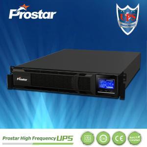 Buy cheap Prostar 2U 19-inch Rackmount UPS 3KVA PHR1103 LCD Display 220V for Server Room product