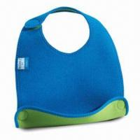 Buy cheap Baby Bib, Customized Designs are Accepted, Made of Neoprene product