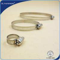 Buy cheap SS304 American Type Hose Clamp , A2-70 5mm Small Hose Clamp Carbon Steel product