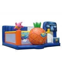 Buy cheap Amusement Park Commercial Jumping Castle , Commercial Inflatable Playground product