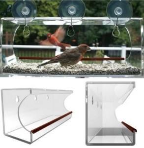 Buy cheap window bird feeder/clear window bird feeder/acrylic window bird feeder product