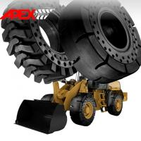 Buy cheap APEX 17.5-25 Solid Tire, Cushion Tyre for Wheel Loader, Integrated Tool Carrier, Elevating Motor Scraper product