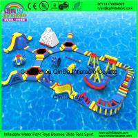 Buy cheap Giant inflatable water park/Summer games for adult/used water park slides for sale product