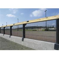 Buy cheap Welded Arched Double Horizontal Prestige Wire Mesh Fence / Double Loop Wire from wholesalers