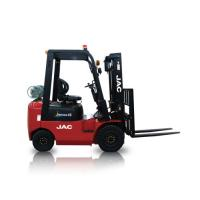 Buy cheap JAC Gasoline Forklift Truck 1.5 Ton Lifting Capacity 3m - 6m Lift Height product