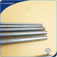 Buy cheap Eco Friendly High Tensile Threaded Rod Carbon Steel / Stainless Steel Material product