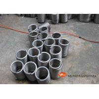 Buy cheap Coiling For Heat Exchange / Air Conditioner Evaporator Coil Location Coiled Stainless Steel Tube product