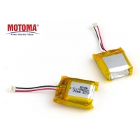 Buy cheap High Rate Rechargeable GPS Tracker Battery 250mah 3.7V For Bicycle Tracker product