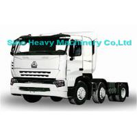 Buy quality Sinotruk Howo 6X2 Prime Mover Truck in Black , Unloading Trucks , Color Can Be Selected at wholesale prices