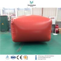 Buy cheap 3m3 - 100m3 PVC Biogas Storage Bag, Methane Gas Bag, Biogas Balloon product