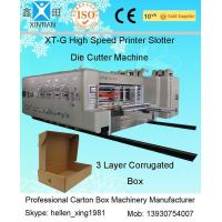 Buy cheap Fully Automatic Carton Making Machine With 7.2mm Thickness Of Printing Plate from wholesalers