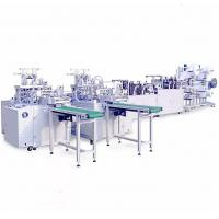 Buy cheap Heavy Duty Automatic Face Mask Making Machine Stable Operation Low Scrap Rate product