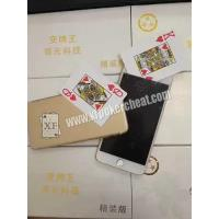 Buy cheap Gold Poker Cheat Device / Original iPhone 6 Mobile Poker Exchanger from wholesalers