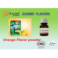 Buy cheap Glucose Base Sweet Orange Flavor Powder for Instand Drink Powder product