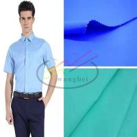 Buy cheap TC poplin woven men's shirt fabric from wholesalers
