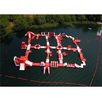Buy cheap Creative Aquatic Sports Inflatable Floating Water Park Reliable Long Life Span product