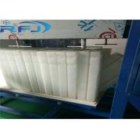 China Commercial Round Block Ice Machine 3 Tons Capacity Aliminium Plate Ice Moulds Material on sale