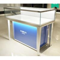 Buy cheap Aluminum Alloy Frame Mobile Jewelry Store Showcases Lighted Jewelry Display Case from wholesalers