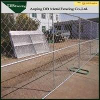 Buy cheap Steel Temporary Site Fence Panels , Chain Link Mesh Fence For Garden / Farm product