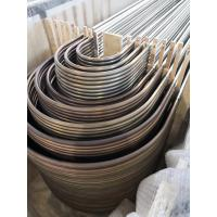 Buy cheap Stainless Steel U Bend Tube For Heat Exchanger Application, ASTM A213 / SA213 from wholesalers