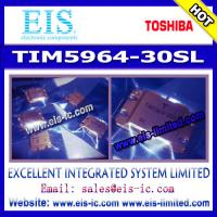 Buy quality TIM5964-30SL - TOSHIBA - MICROWAVE POWER GaAs FET - Email: sales009@eis-ic.com at wholesale prices