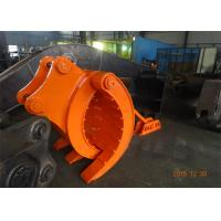 Buy cheap Mechanical Type Heavy Duty Rock Grapples For Excavators Hitachi ZX330 product