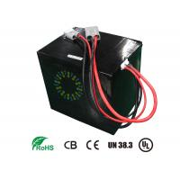Buy cheap 48V 40Ah Rechargeable Lithium Ion Motorcycle Battery For Electric Scooters High energy density product