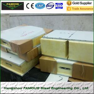 150mm pu polyurethane foam sandwich panels for cold room