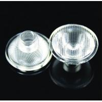 Buy quality Single Led optical Lens For Osram / Cree XPE XLamp / Lumens / Citizen Led Diode at wholesale prices