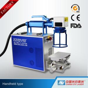 Buy cheap 20W 30W 50W Handheld Type Fiber Laser Marking Machine for Jewelry product