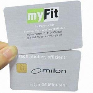 Buy cheap Original SLE5542 Contact Smart Cards, Suitable for Public Transportation product