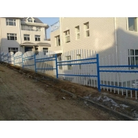 Fence Solution For Mountains Slopes Tubular Steel Fence