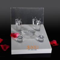 Buy cheap Unique Diamond Ring Jewelry Display Stands Acrylic Tray 220×260×175 mm product