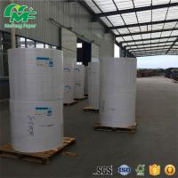 Buy cheap Virgin Wood Pulp Thermal Paper Jumbo Rolls Long Years Image Life High Performance product