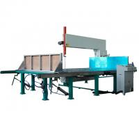 Buy cheap D&T Automatic Vertical Foam Cutting Machines Cutting Foam with CE polystyrene from wholesalers