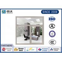 Buy cheap Gray Windproof Heat Resistant Windows , Steel Fire Rated Pass Through Window product