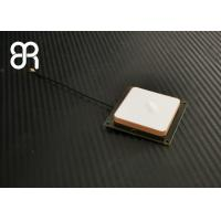 Buy cheap Handheld Small RFID Antenna Ceramic F4B Material 2dBic 50×50×8mm For RFID Reader product