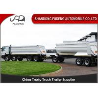 Buy cheap Farming Draw Bar Trailer With Turntable 20 - 50 Tons Loading Capacity product