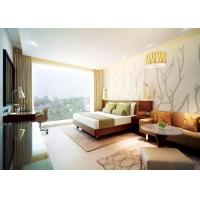 Comfortable Commercial Hotel Furniture With Marble Top Coffee Table