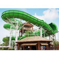 Buy cheap Large durable Custom Water Slides / Profitable water amusement play equipment from wholesalers