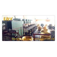 Buy cheap Small High Capacity Vertical Brass Casting Machine PLC Control For 8mm Brass Rod product