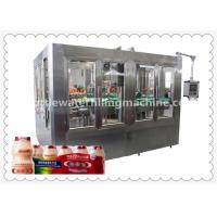 Buy cheap Automatic Bottle Soybean Milk Hot Filling Machine With 8 Capping Head product