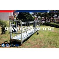 China Single Mast Climbing Work Platform , gondola lift construction cradle on sale