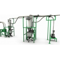 Buy cheap Low Velocity 150T/H Powder Transportation Pneumatic Conveying System product